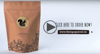 Golden Rule to Real Coffee - The Flying Squirrel