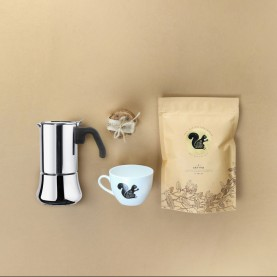 Moka Pot Espresso Brewer Kit